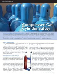 compressed gas cylinder safety - Jerome Spear