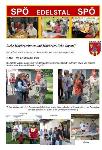 Sommer 2013 - SPÖ Edelstal