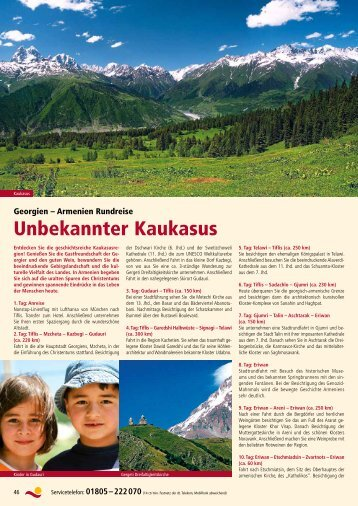 Unbekannter Kaukasus