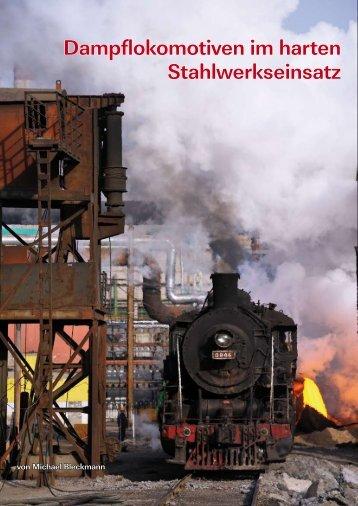 Dampf im Stahlwerk Beitai - Tanago.de