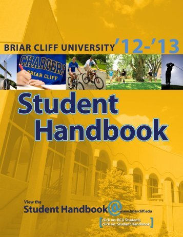 Student Handbook - Briar Cliff University