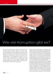 Wie viel Korruption gibt es? - Kripo.at