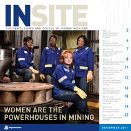 WOMEN ARE THE POWERHOUSES IN MINING - Words' Worth