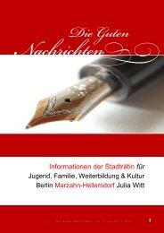 Nr. 2 vom 25.11.2011 - Die guten Nachrichten aus Marzahn ...