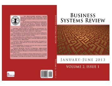 Download the full issue - Business Systems Review BSR