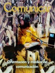 Orientación y medios de comunicación - Revista Comunicar
