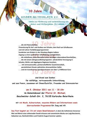 einladung und anmeldung - kinder im zentrum gallus ev, Einladungen