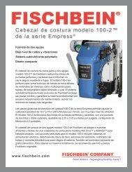 Cabezal de costura modelo 100-2™ de la serie Empress® - Fischbein