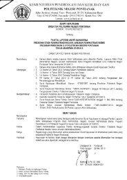 Panitia Laporan Akhir - Akademik dan Kemahasiswaan - Politeknik ...