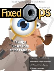 May-June Fixed Ops Magazine