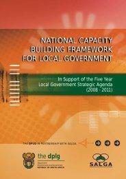 National Capacity Building Framework - Parliamentary Monitoring ...