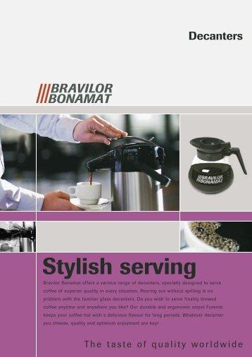 Stylish serving - Bent Brandt A/S