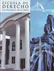 programa de mediación - Escuela de Derecho - Pontificia ...
