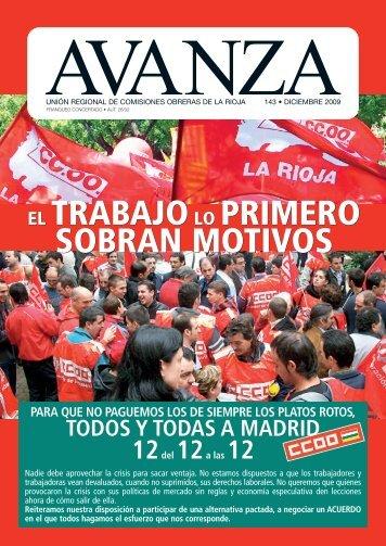 Movilizacion General Avanza - Comisiones Obreras de La Rioja ...