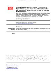 Risk Population the Detection of Advanced Adenoma in an Average ...