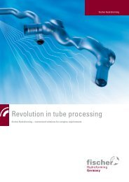 Revolution in tube processing - fischer group