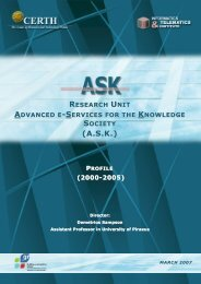 (A.S.K.) - Advanced Digital Systems and Services for Education and ...