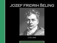 jozef fridrih šeling - Ekonomski fakultet Subotica