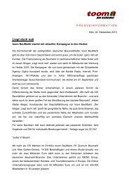 2010-09-24 toom pressemitteilung kampagnenstart