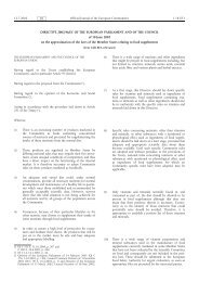 Commission Directive 2002/46/EC - The Food Safety Authority of ...