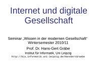 Folien - Prof. Dr. Hans-Gert Gräbe