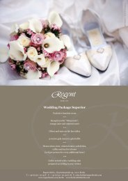 Wedding Package Superior - Fischers Fritz