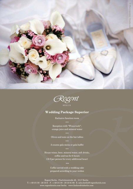 Wedding Package Superior - Fischers Fritz