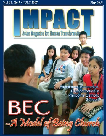 Vol 41, No 7 • JULY 2007 Php 70.00 Php 70.00 - IMPACT Magazine ...