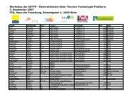Teilnehmer (PDF, 100 kB) - Austria Solar