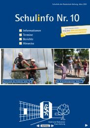 Schulinfo Nr. 10 - Realschule Kettwig - Essen