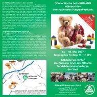 18. Mai 2007 Montag bis Freitag 9 - HERMANN-Spielwaren GmbH