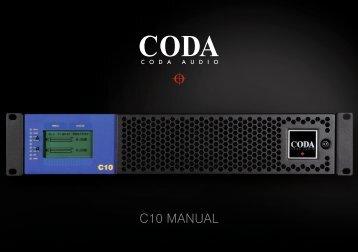 C10 Manual v1-vekt..indd - Coda Audio