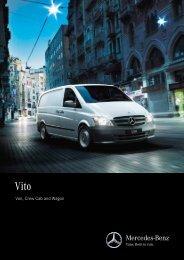 Vito Van, Crew Cab and Wagon Brochure (PDF) - Mercedes-Benz