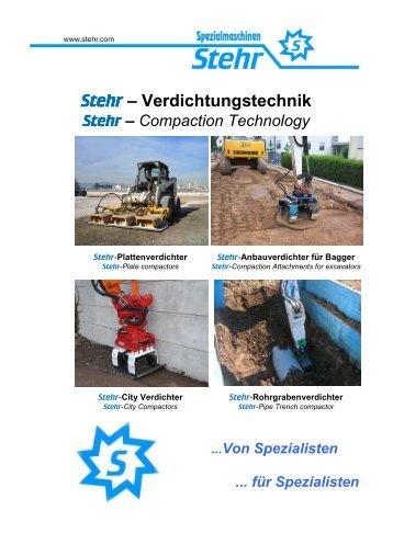 Stehr – Verdichtungstechnik