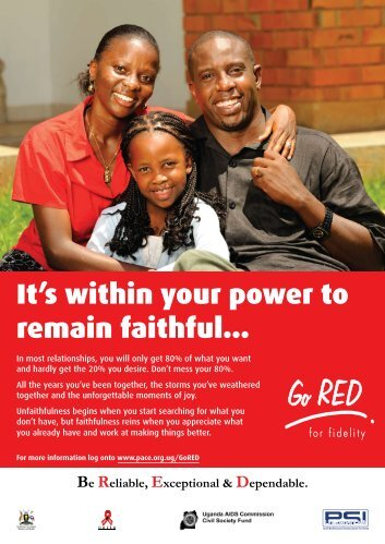 It's within your power to remain faithful...