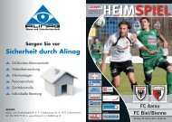 Saison 2010/2011 - Ausgabe 10: FC Aarau - FC Biel/Bienne