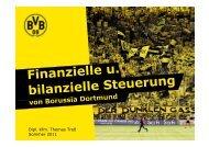 Die Borussia Dortmund GmbH & Co. KGaA an der Börse