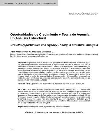 Texto Completo - Revista Panorama Socioeconómico