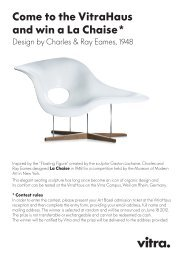Come to the Vitrahaus and win a La Chaise*