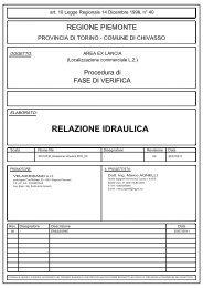 Idraulica - Valutazione Ambientale