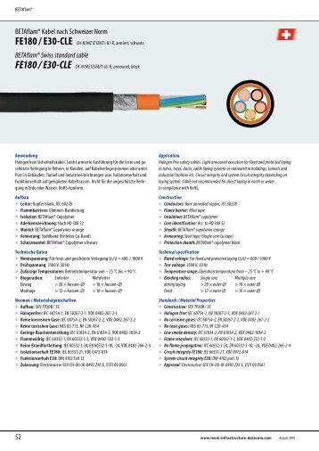 FE180 / E30-CLE - LEONI Infrastructure & Datacom