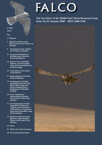 Falco 32 - International Wildlife Consultants Ltd.