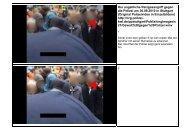 Bilddokumentation des Sprühers - Kritische Polizisten