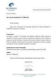 23/10 Alteração do tratamento tributário especial na operação com ...