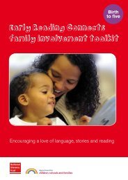 Early Reading Connects family involvement toolkit - National ...