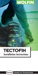 Tectofin Fixing Guide [ 1.67 MB PDF ] - Raven Roofing Supplies