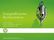 Energieeffizientes Rechenzentrum - Oev-symposium.de