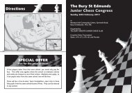 Entry form - The English Chess Federation