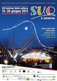 15»26 giugno 2011 - Suq a Genova