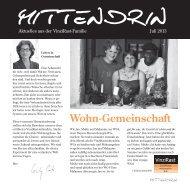 Aktuelle Ausgabe unserer Zeitung Mittendrin (Juni 2013) als PDF.